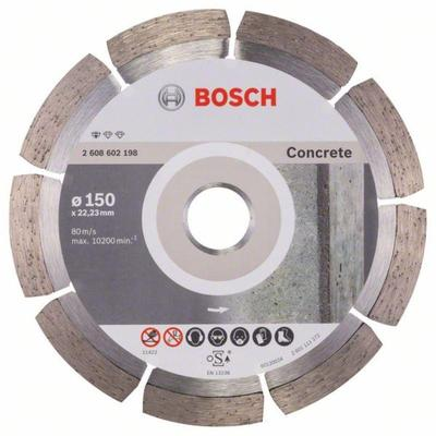 Диск алмазный Standard for Concrete 150-22,23 Bosch 2608602198