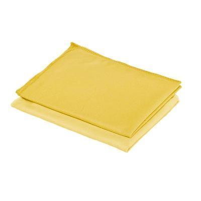 Салфетки хозяйственные Fullbox Shine микрофибра 40x30 см желтые 5 штук в упаковке