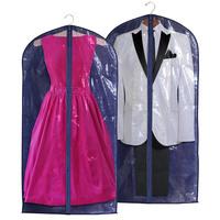 Чехол для одежды синий 125x60 см (5522)