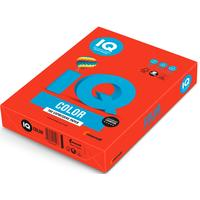 Бумага цветная для печати IQ Color красная интенсив CO44 (А4, 80 г/кв.м, 500 листов)