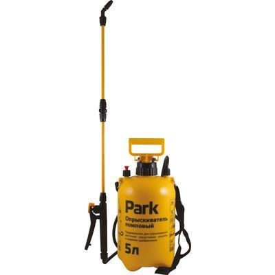 Опрыскиватель ранцевый Park 5 л помповый желтый