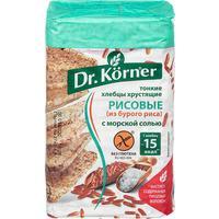 Хлебцы Dr.Korner Рисовые с морской солью 100 г