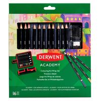 Карандаши цветные Derwent Academy в пенале 12 цветов