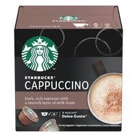Кофе в капсулах для кофемашин Starbucks Cappuccino (12 штук в упаковке)