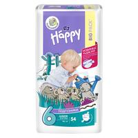 Подгузники Bella Baby Happy размер 6 (XXL) 16+ кг (54 штуки в упаковке)