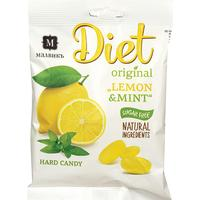 Карамель Малвикъ Diet лимон-мята на изомальте 50 г