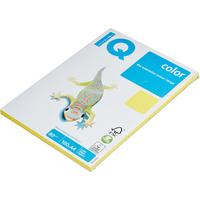 Бумага цветная для печати IQ Color желтая интенсив CY39 (A4, 80 г/кв.м, 100 листов)