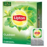 Чай Lipton Clear Green зеленый 100 пакетиков