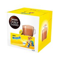 Какао в капсулах  для кофемашин Nescafe Dolce Gusto Nesquik (16 штук в упаковке)