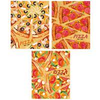 Тетрадь общая Academy Style Пицца А5 80 листов в линейку на спирали (обложка в ассортименте)
