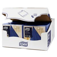 Салфетки бумажные Tork LinStyle Premium 478856 39x39 см синие 1-слойные  50 штук в упаковке
