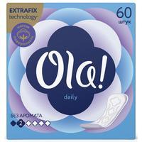 Прокладки женские ежедневные Ola! Daily (60 штук в упаковке)