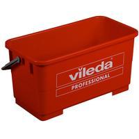Ведро для мытья окон Vileda Professional Эволюшн 25 л пластик красное (арт. производителя 500118)