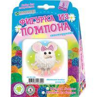 Набор для творчества Клевер Маленькая мышка изготовление фигур из пряжи