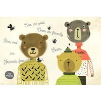 Альбом для рисования Kroyter Мишки А4 40 листов