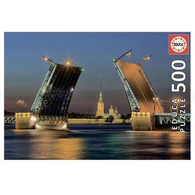 Пазл Educa Развод Дворцового моста в Санкт-Петербурге 500 деталей