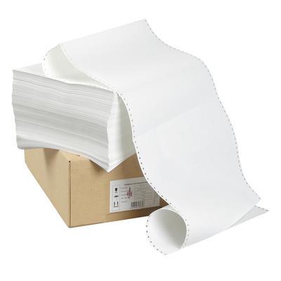 Бумага однослойная с отрывной перфорацией ProMega jet 240 мм 12 белизна 100% 2000 листов
