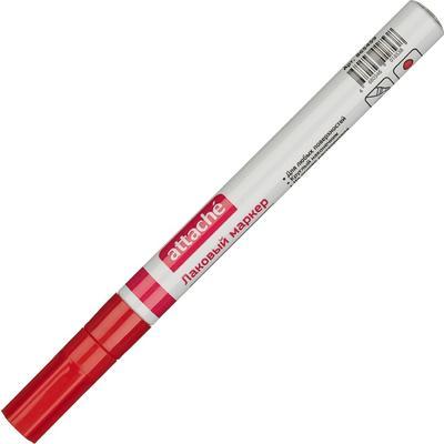 Маркер промышленный Attache для универсальной маркировки красный (2 мм)