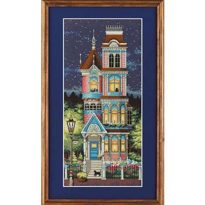 Набор для вышивания Dimensions Викторианское очарование 20x43 см