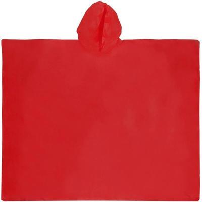 Дождевик в чехле ПВХ красный (838701)