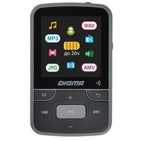 Плеер MP3 Digma Z4 BT 16Gb черный