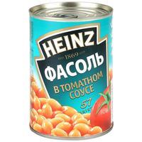Фасоль Heinz белая в томатном соусе 415 г