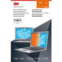 Экран защиты информации 3M для устройств 14.0 золотистый (GF140W9B)