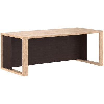 Стол письменный Alto со сплошной царгой AST209H (дуб/венге, 2000х900х750 мм)