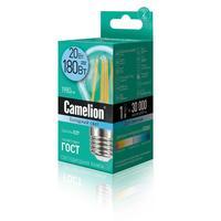 Лампа светодиодная Camelion 20 Вт Е27 грушевидная 4500 К холодный белый свет