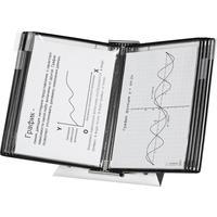 Демосистема настольная А4 10 панелей черного цвета Tarifold Stainless Steel