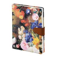 Ежедневник датированный 2021 год InFolio Floria искусственная кожа A5 176 листов разноцветный (140x200 мм)