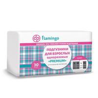 Подгузники для взрослых одноразовые Flamingo Premium L (30 штук в упаковке)