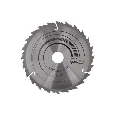 Диск пильный SPEEDLINE 190х30 мм 24 зуб. Bosch (2608640801)