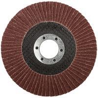 Круг шлифовальный лепестковый торцевой (115 мм, Р 60) FIT (39543)