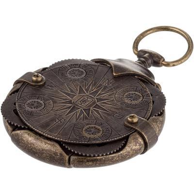 Флеш-память Compass Lock Криптекс 32 Gb USB 3.0 коричневая