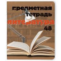 Тетрадь предметная по литературе Альт Крафт А5 48 листов