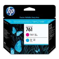 Головка печатающая HP 761 CH646A пурпурная и голубая оригинальная