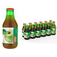 Сок Barinoff яблочный восстановленный осветленный 250 мл (12 штук в  упаковке)