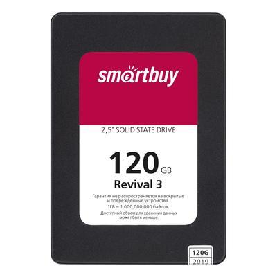 SSD накопитель SmartBuy Revival 3 120 ГБ (SB120GB-RVVL3-25SAT3)