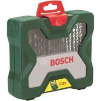 Набор принадлежностей Bosch X-Line Titanium (33 штуки, артикул производителя 2607019325)