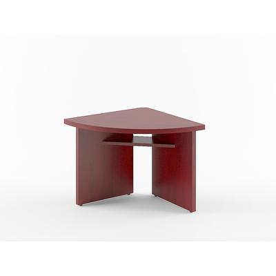 Стол для переговоров Born (бургунди, 840х840х750 мм)