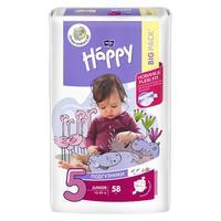 Подгузники Bella Baby Happy размер 5 (XL)12-25 кг (58 штук в упаковке)