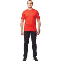 Футболка красная короткий рукав 100% хлопок XL (52-54)