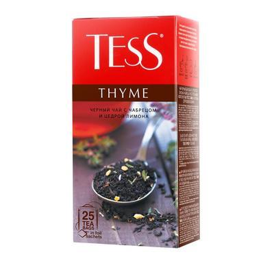 ЧайTess Thyme черный 25 пакетиков