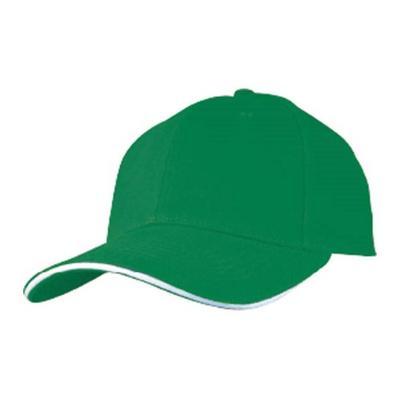 Бейсболка Тэнби зеленая
