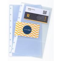Вкладыш для визитниц Exacompta на 120 карточек (130х210 мм, 10 штук в упаковке)