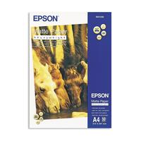 Фотобумага универсальная Epson S041256 односторонняя (матовая, А4, 167 г/кв.м, 50 листов)