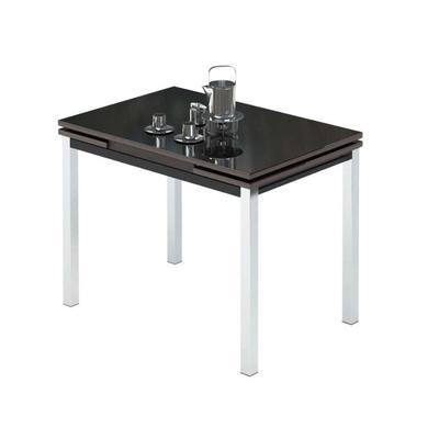 Стол раздвижной Leset Париж 2Р (черный, 1700x740x760 мм)