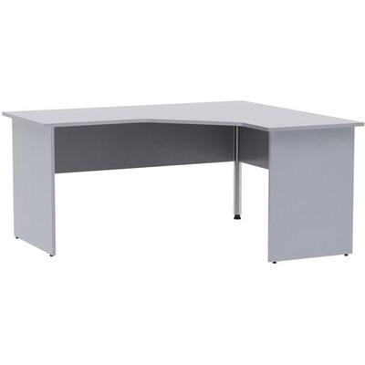 Стол угловой Этюд правый серый (1600x1400x750 мм)