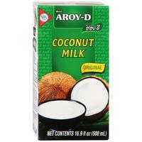 Молоко Aroy-D Кокосовое стерилизованное 17-19% 0.5 л